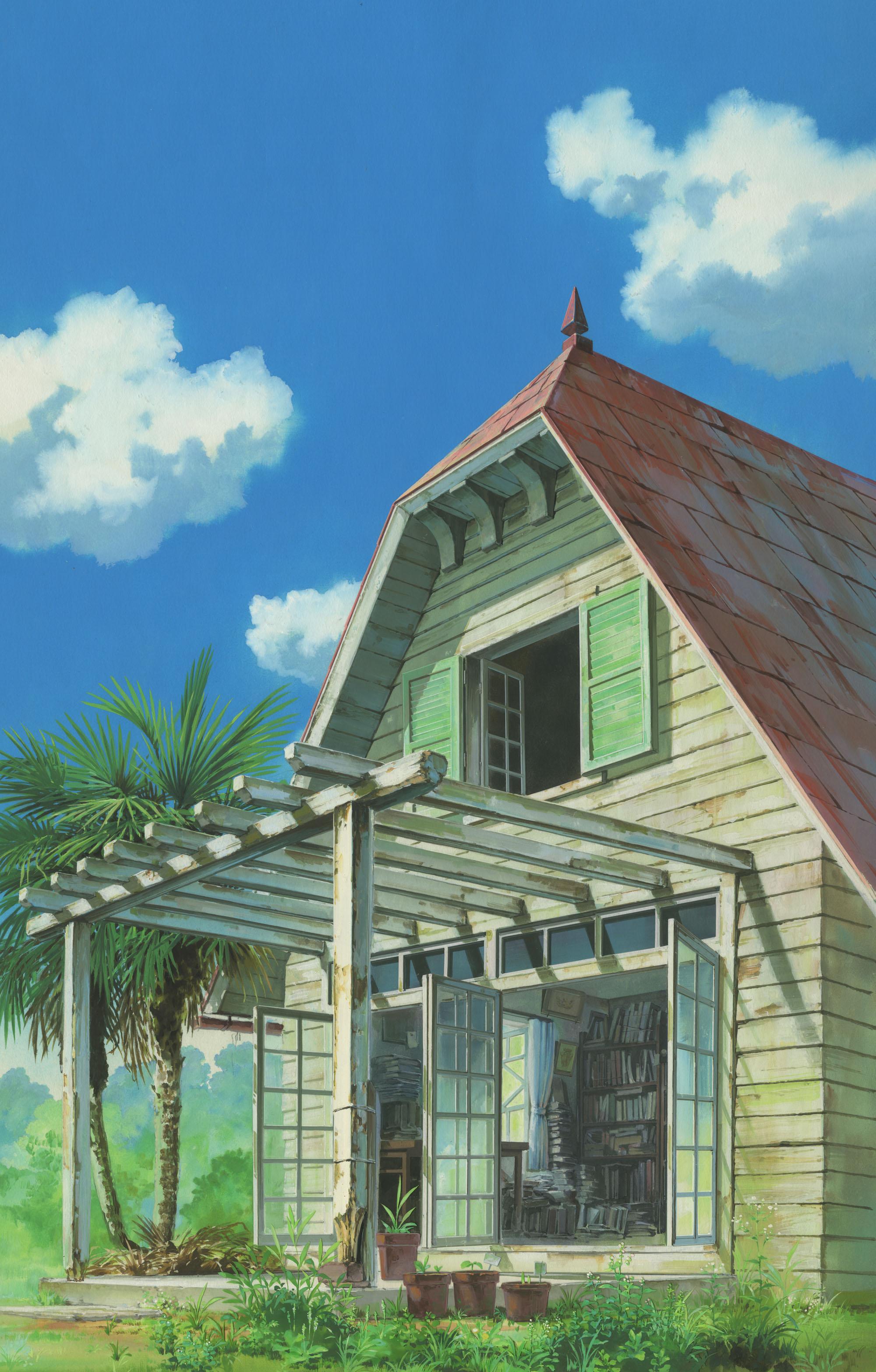 【2/24から@神戸《プレゼントあり》】アニメーションにみる日本建築-ジブリの立体建造物展より-