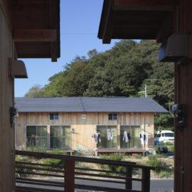 「いわき市高久第十応急仮設住宅」(写真=齋藤さだむ)